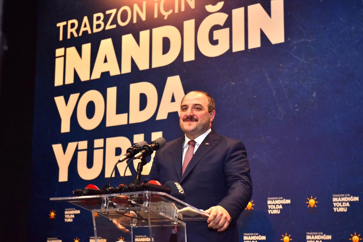 Bakan Varank AK Parti Trabzon İl Danışma Meclisi Toplantısı'na katıldı: (1)