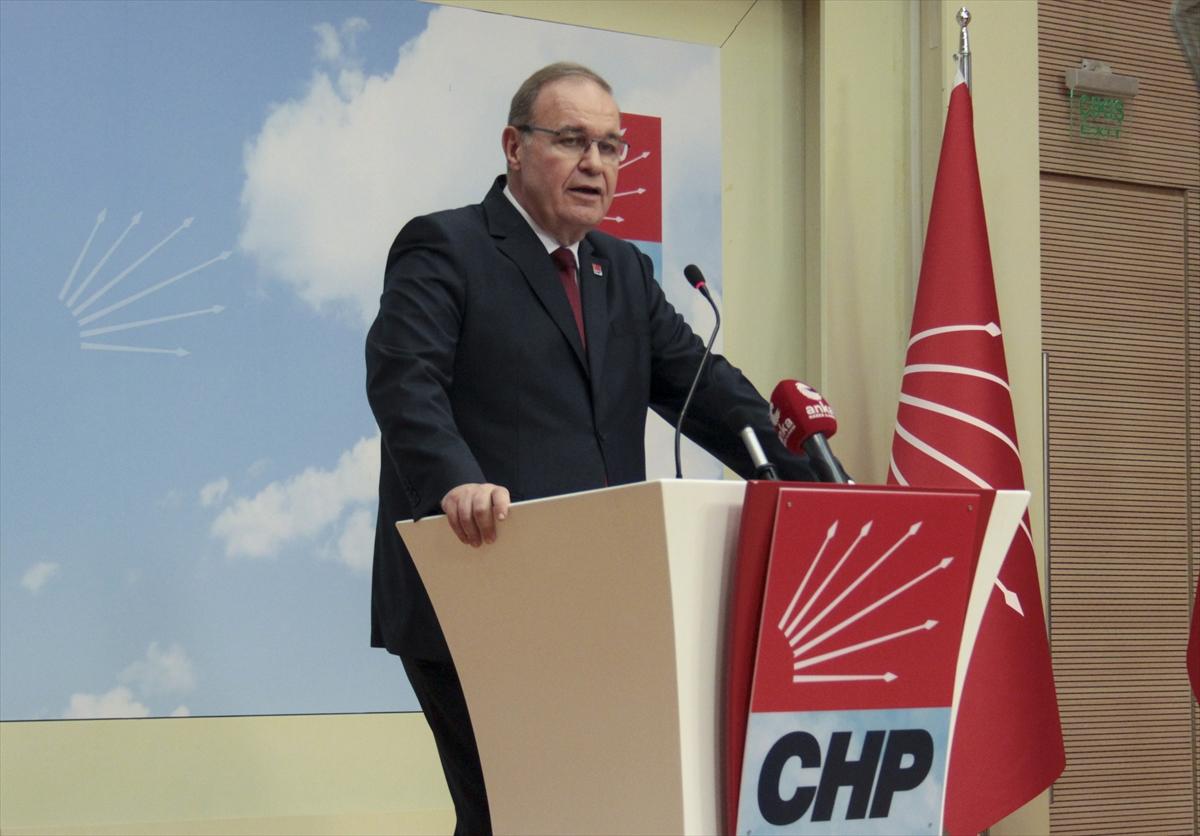 CHP Genel Başkan Yardımcısı ve Parti Sözcüsü Faik Öztrak, gündemi değerlendirdi: