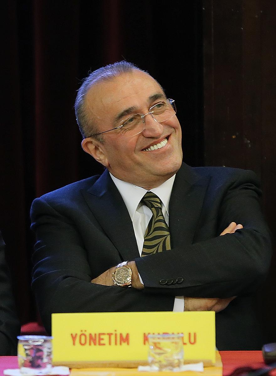 Galatasaray Kulübü Divan Kurulu toplantısı (1)
