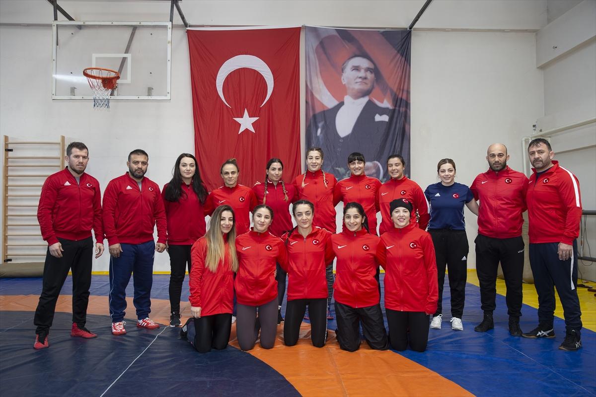 Kadın Güreş Milli Takımı, Avrupa Şampiyonası'na hazır