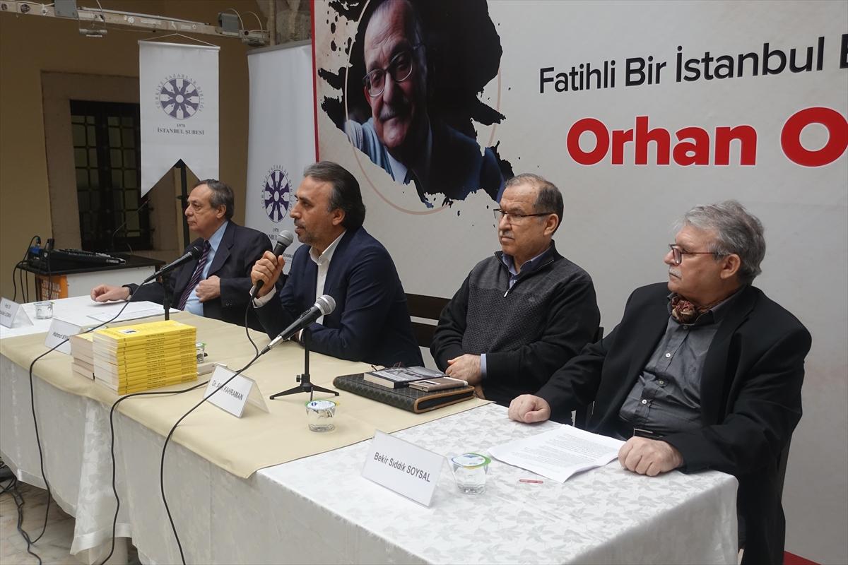 Orhan Okay, TYB İstanbul'da anıldı
