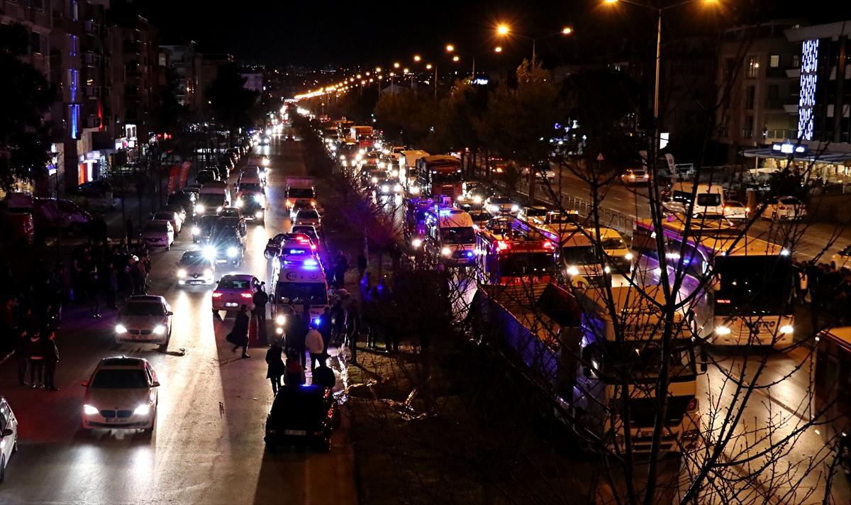 Samsun'da tıra çarpan cipin sürücüsü ağır yaralandı