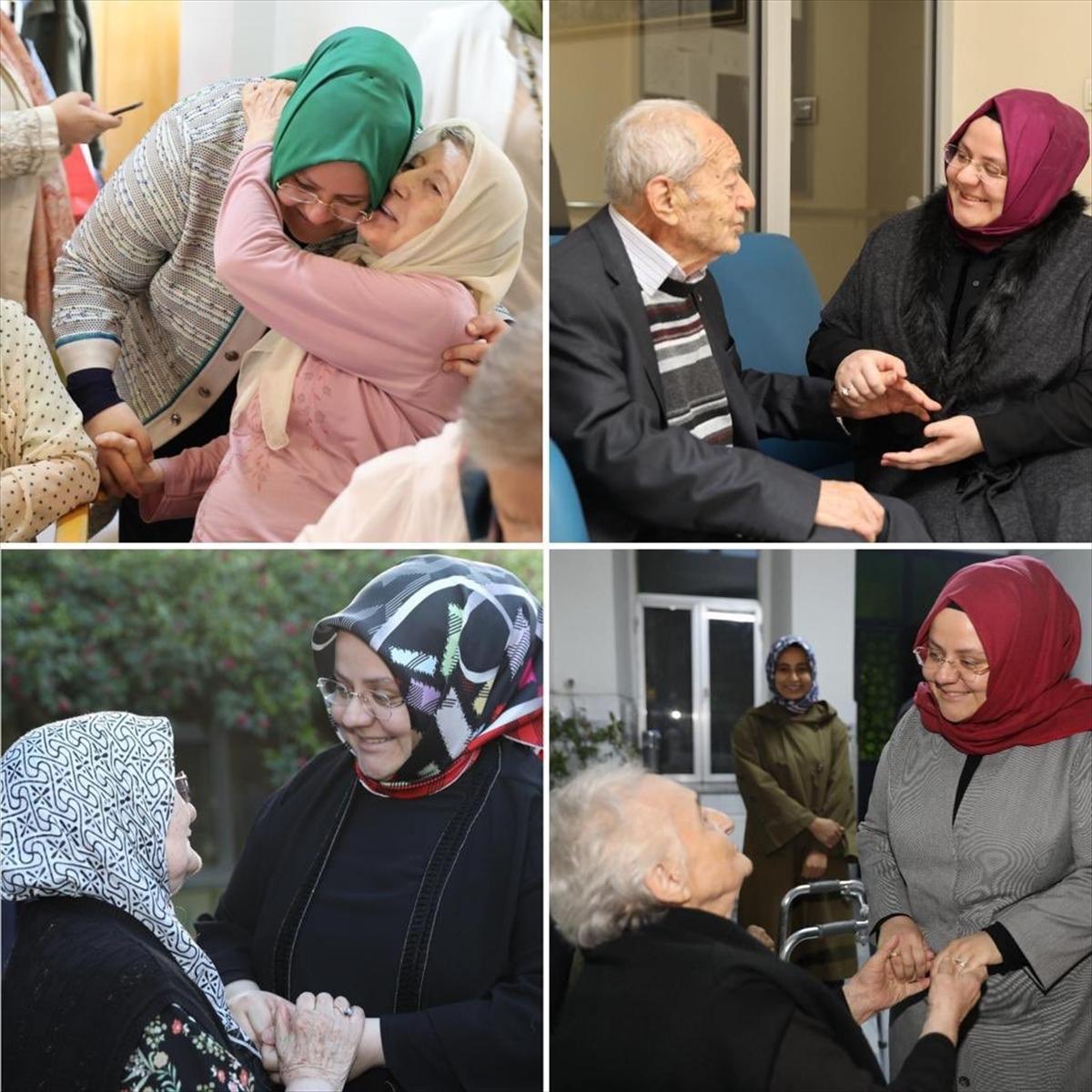 Bakan Zehra Zümrüt Selçuk'tan yaşlılar için anlamlı mesaj: