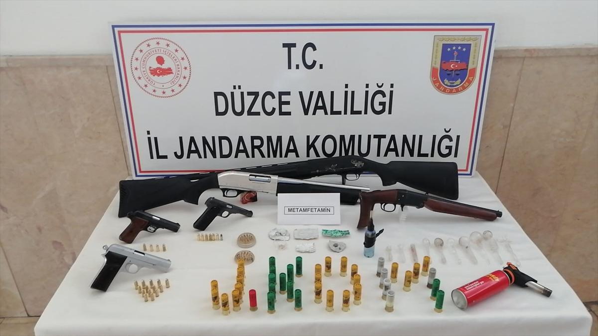 Düzce'de suç örgütü operasyonu: 9 gözaltı