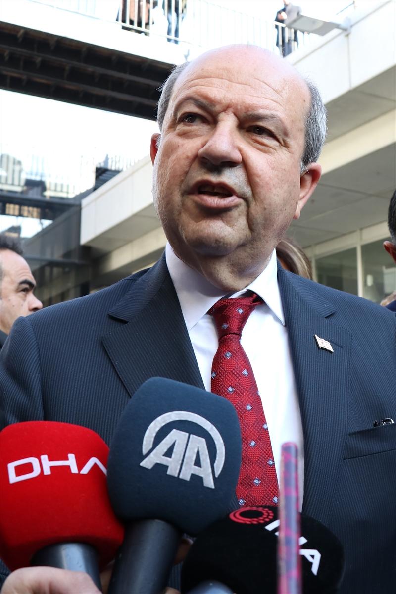 KKTC Başbakanı Tatar'dan Bahar Kalkanı Harekatı'na destek: