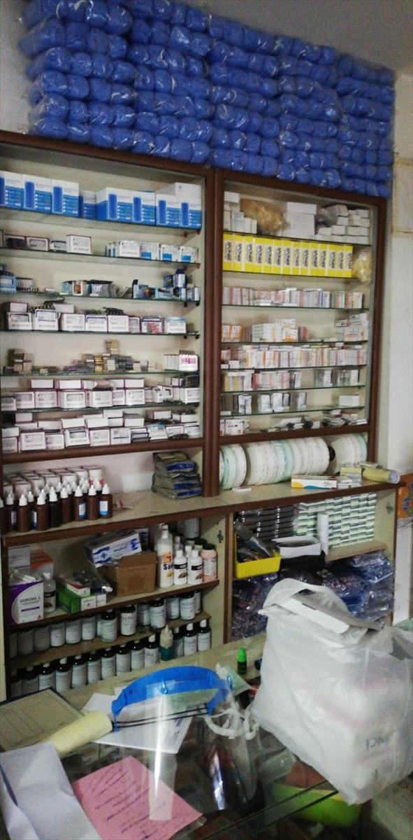Malatya'da kaçak medikal malzemeye el kondu