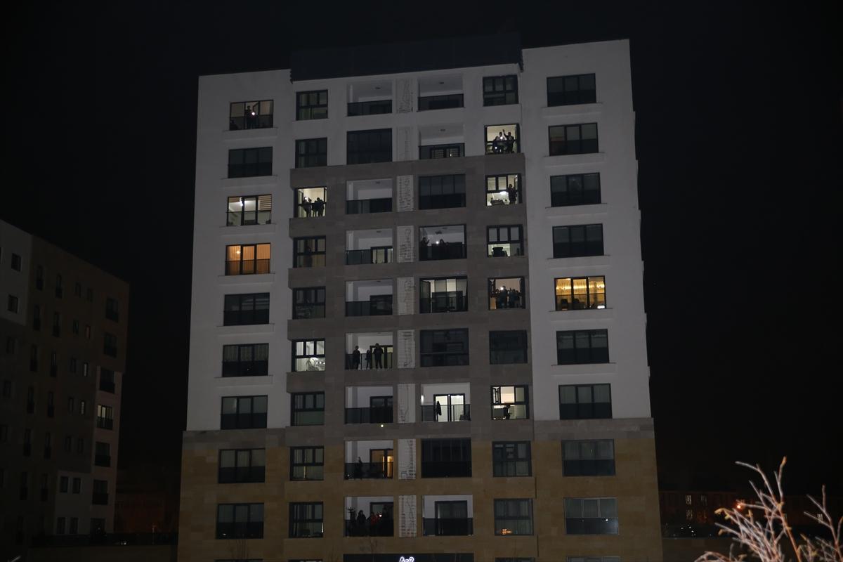 """Nevşehir Belediyesinden """"Evde kal"""" çağrısına uyan vatandaşlara """"mini konser"""""""
