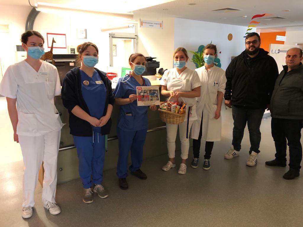 DİTİB'den sağlık çalışanlarına moral ve teşekkür ziyareti