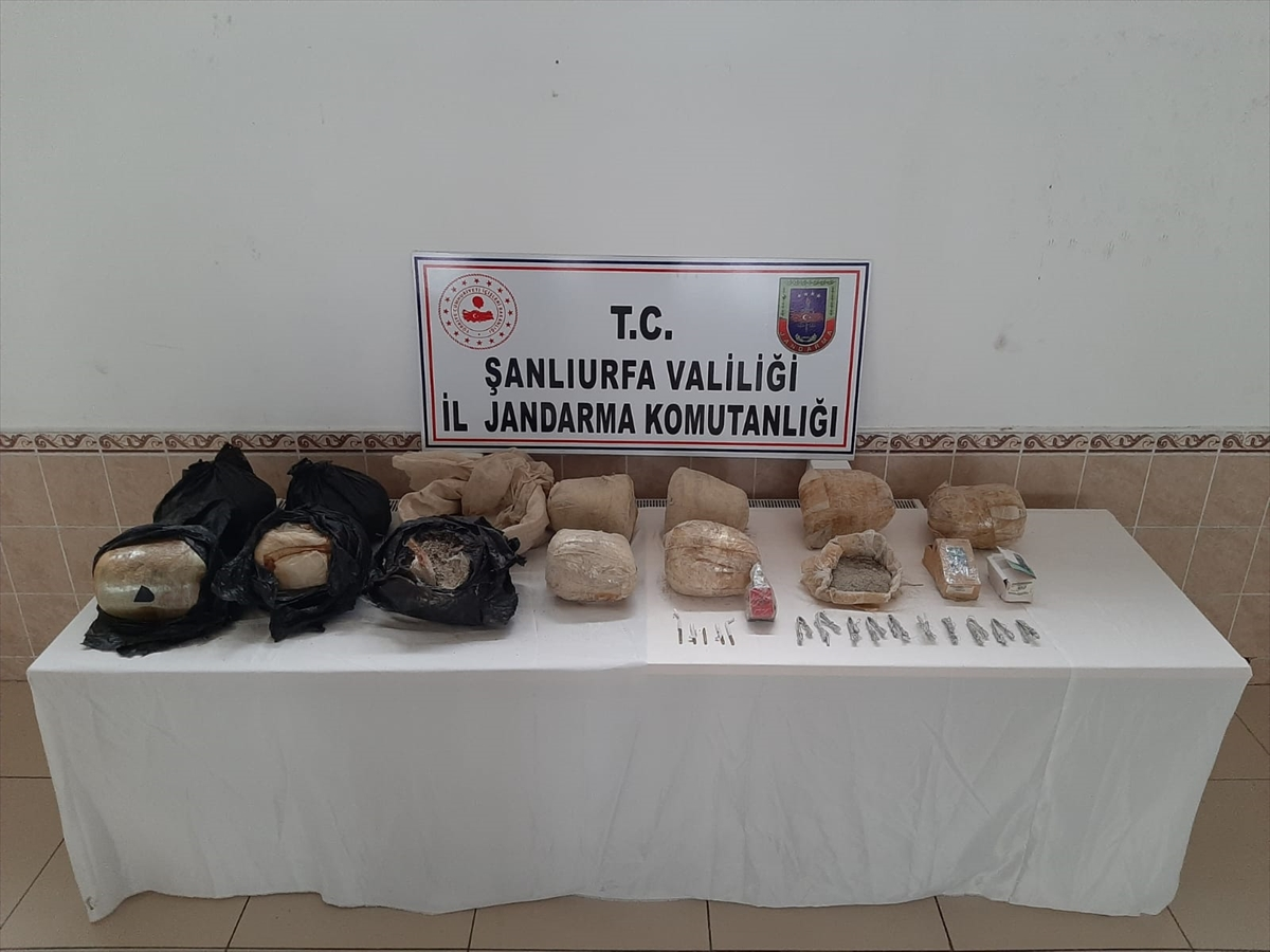 Şanlıurfa'da toprağa gömülü 97 kilogram patlayıcı bulundu