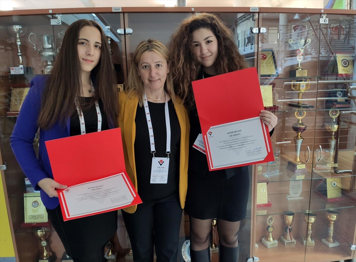"""TED'li öğrenciler TÜBİTAK'ın """"Araştırma Projeleri"""" yarışmasında 6 ödül kazandı"""