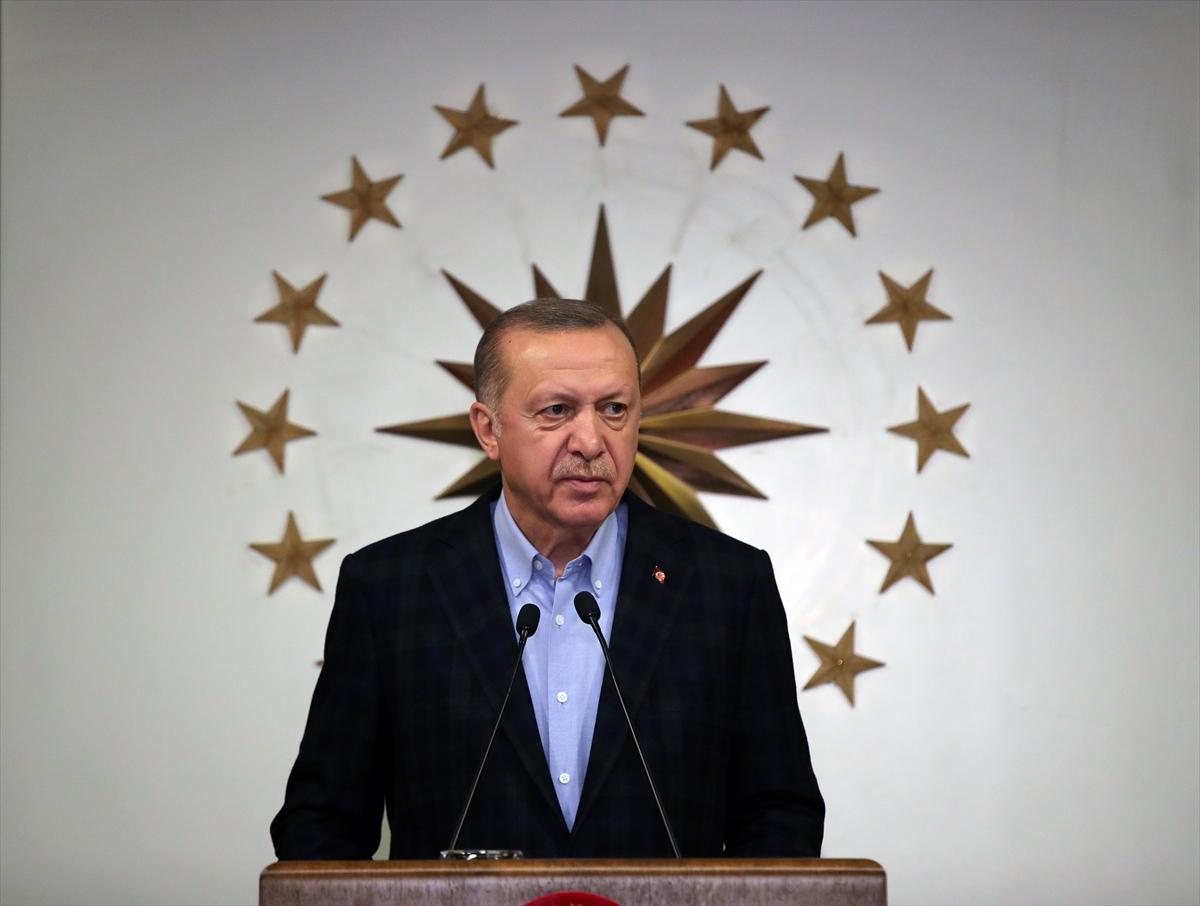 Cumhurbaşkanı Erdoğan, koronavirüsle mücadelede yeni tedbirleri açıkladı: (3)