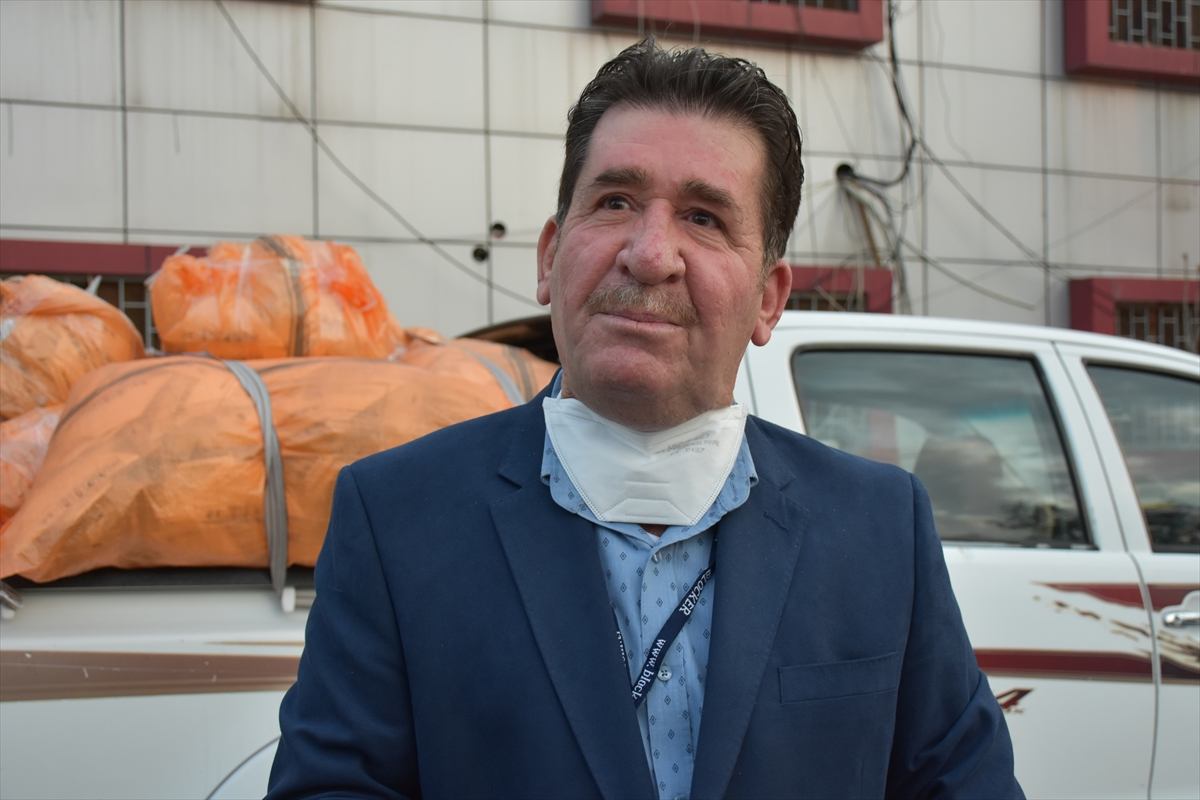 Türkiye'den Irak'a koronavirüsle mücadelede maske desteği
