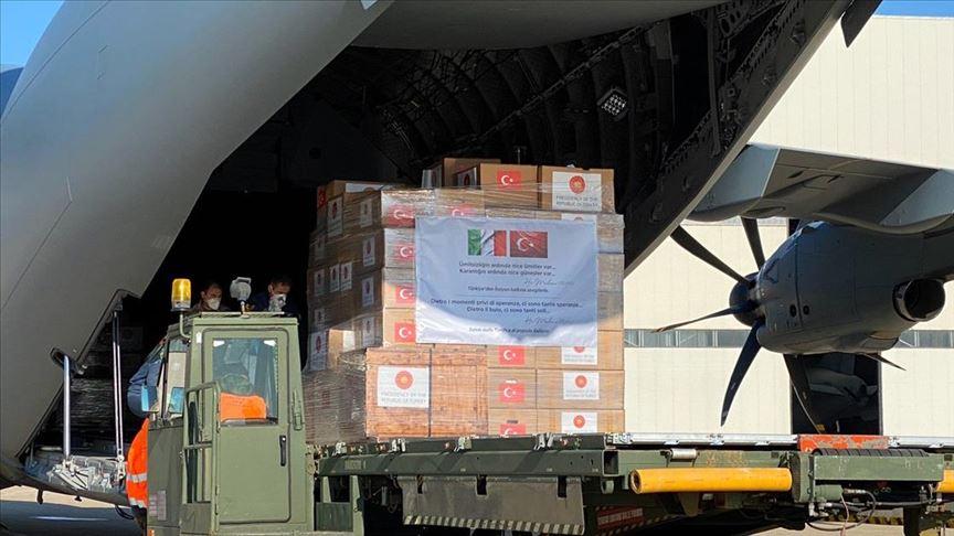 İspanya ve İtalya'dan Türkiye'ye teşekkür yağdı