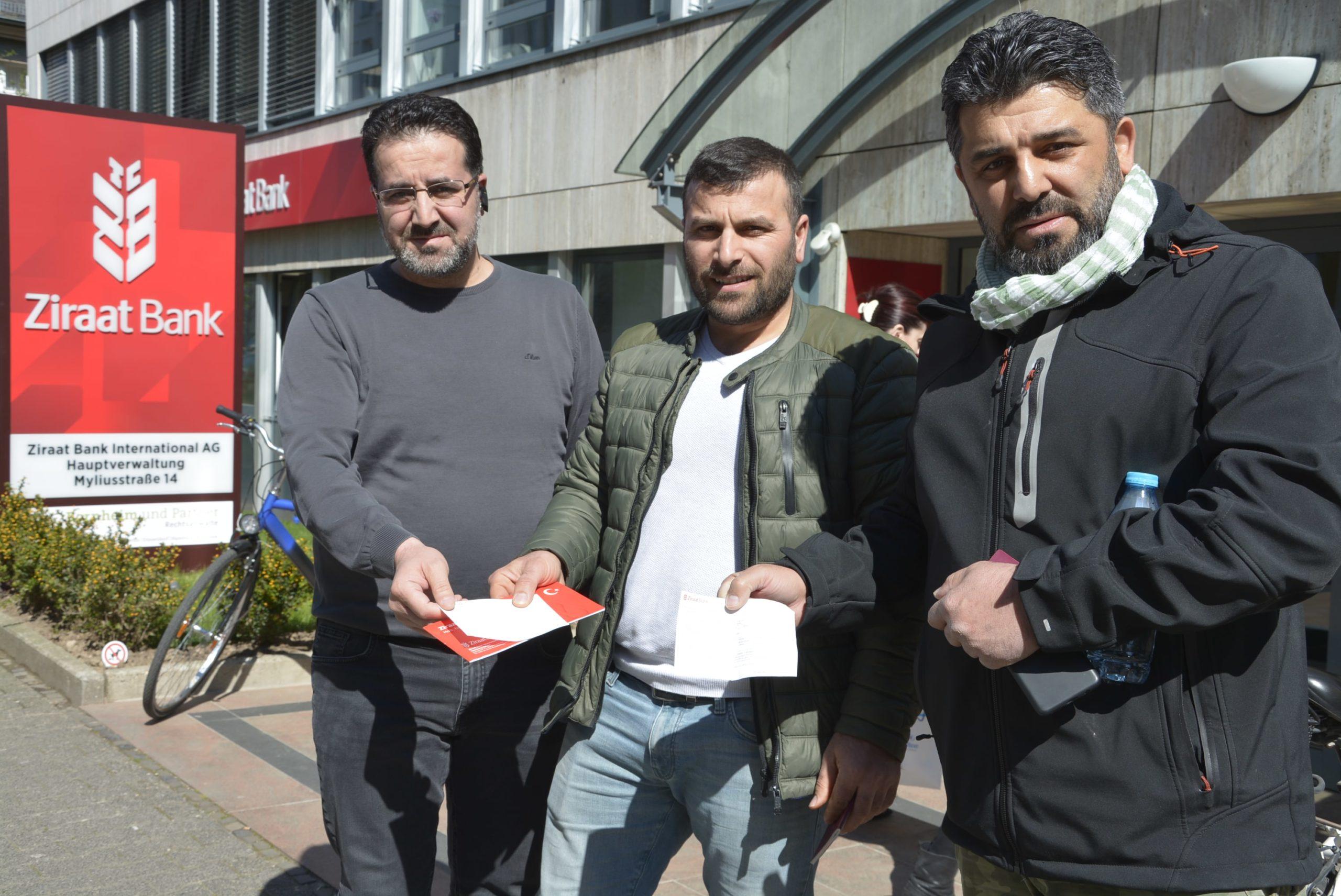 Frankfurt esnafı da 'Biz Bize Yeteriz Türkiyem' dedi