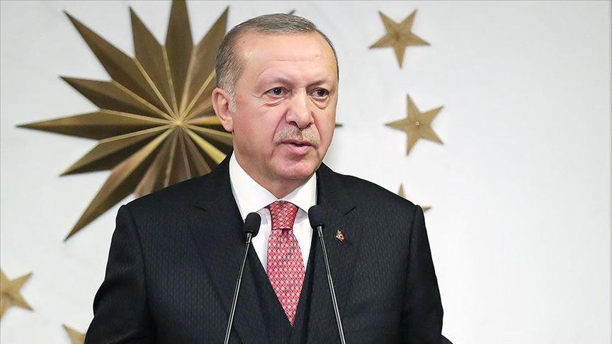 Cumhurbaşkanı Erdoğan'dan Alparslan Türkeş'in vefat yıl dönümünde taziye telefonu