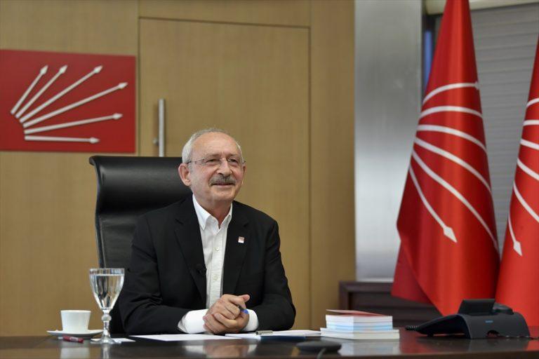 CHP Lideri Kılıçdaroğlu, üniversite öğrencileriyle video konferansla görüştü: