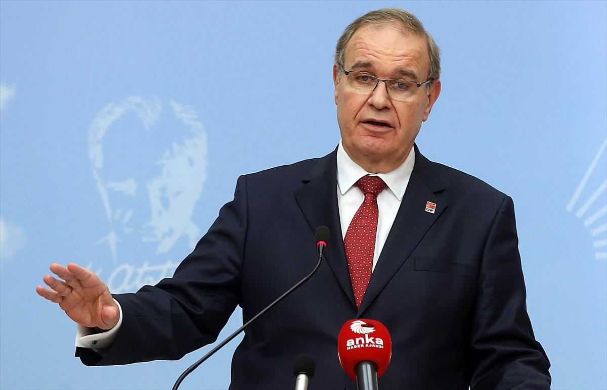 CHP Sözcüsü Faik Öztrak: