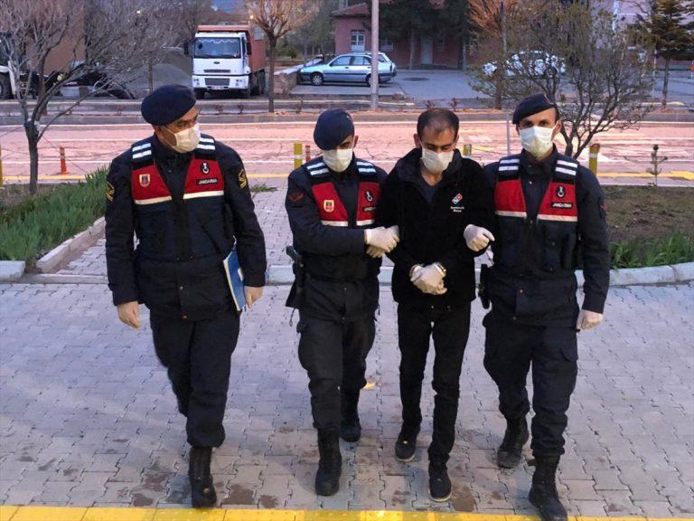 Kayseri'de faili meçhul 14 olayın şüphelisi tutuklandı