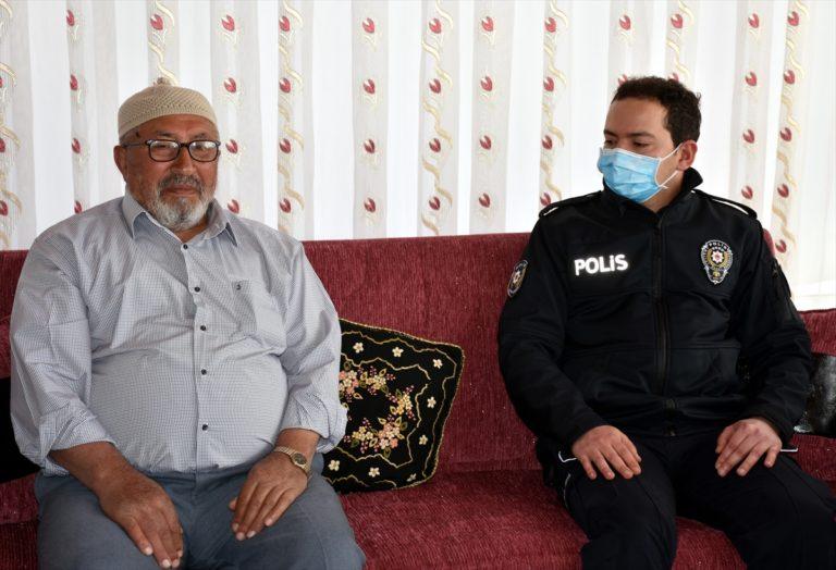 Kırıkkale'de şehit ailesinden Milli Dayanışma Kampanyası'na bağış