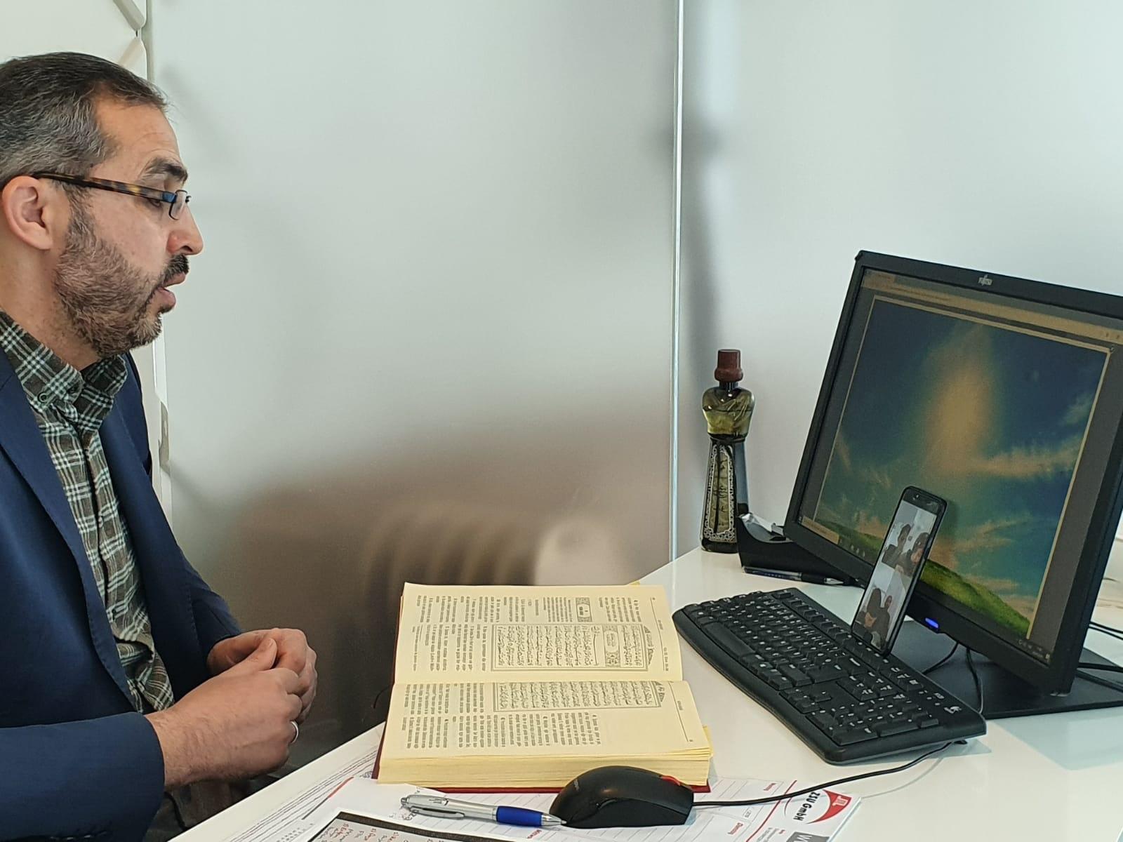 Kur'an kurslarında dersler uzaktan eğitimle yapılıyor