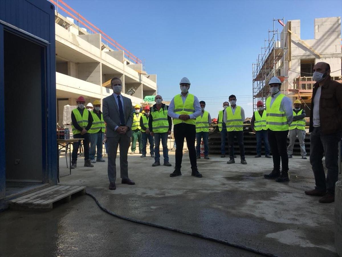 Milli Dayanışma Kampanyası'na Almanya'da çalışan Türk işçilerden destek