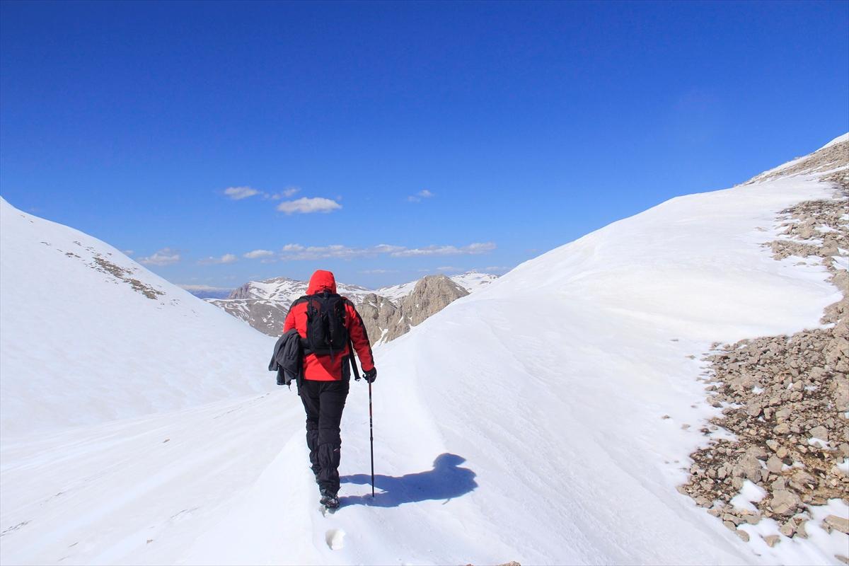 Munzur ve Mercan Dağları ilkbaharda bir başka güzel