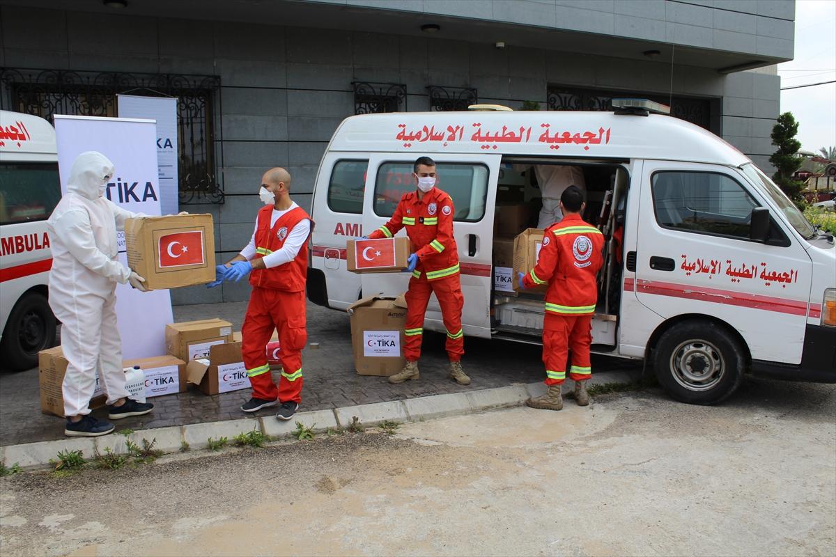 TİKA'dan Kovid-19'la mücadele eden Lübnan'a tıbbi yardım