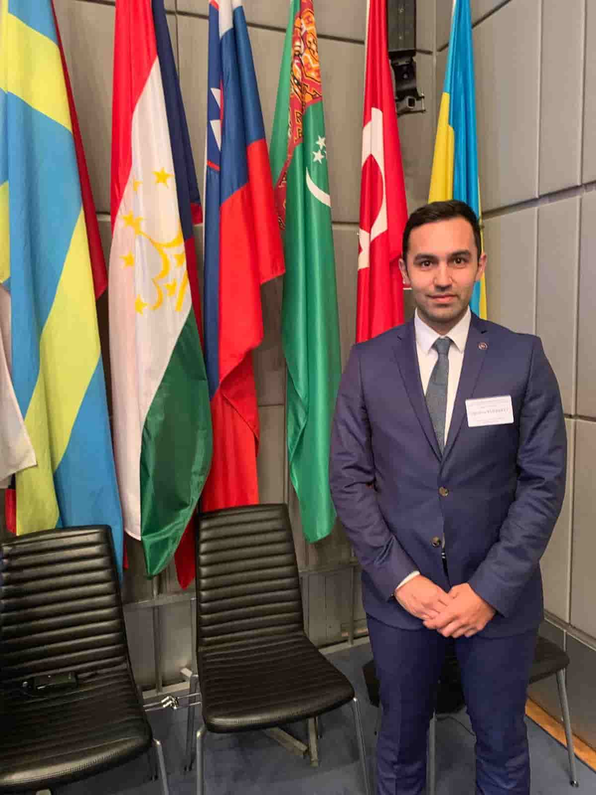 AYF-YK. Üyesi Oğuzhan Yürekli AGİT'in sanal toplantısında konuştu