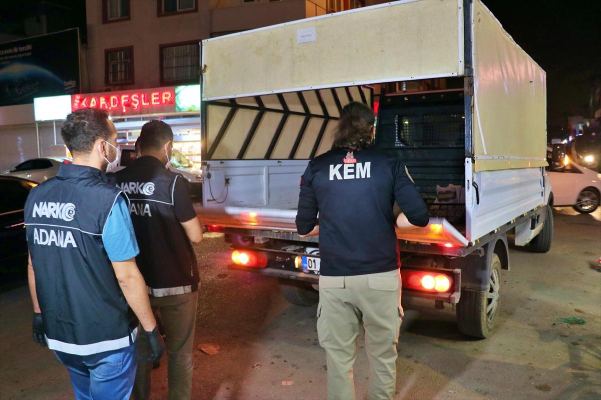 Adana'da narkotik denetimleri
