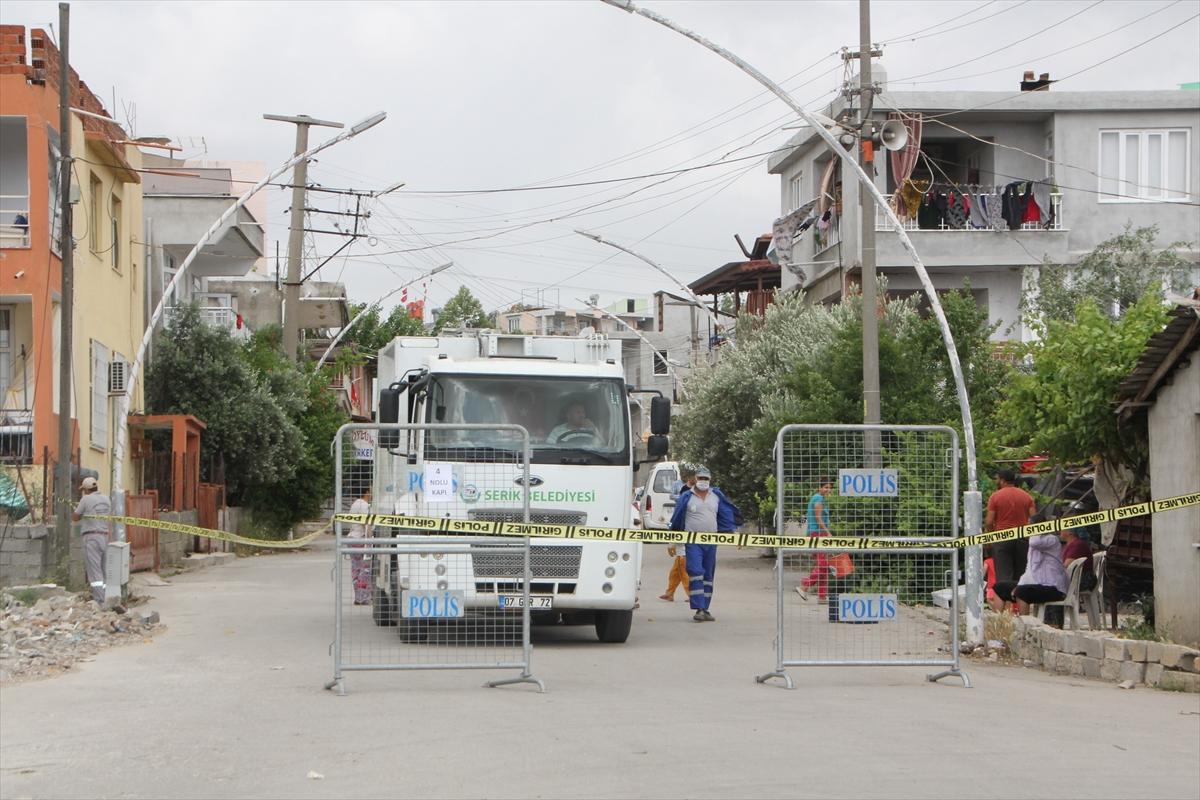 GÜNCELLEME – Antalya'nın Serik ilçesindeki Kovid-19 karantinası genişletildi