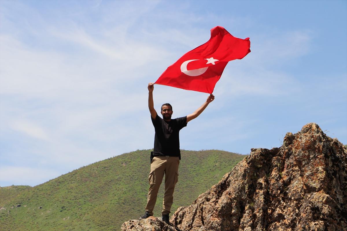 Başkan Saklı, Efkar Dağı'na tırmanarak Seyir Tepesi yapılacak alanı inceledi