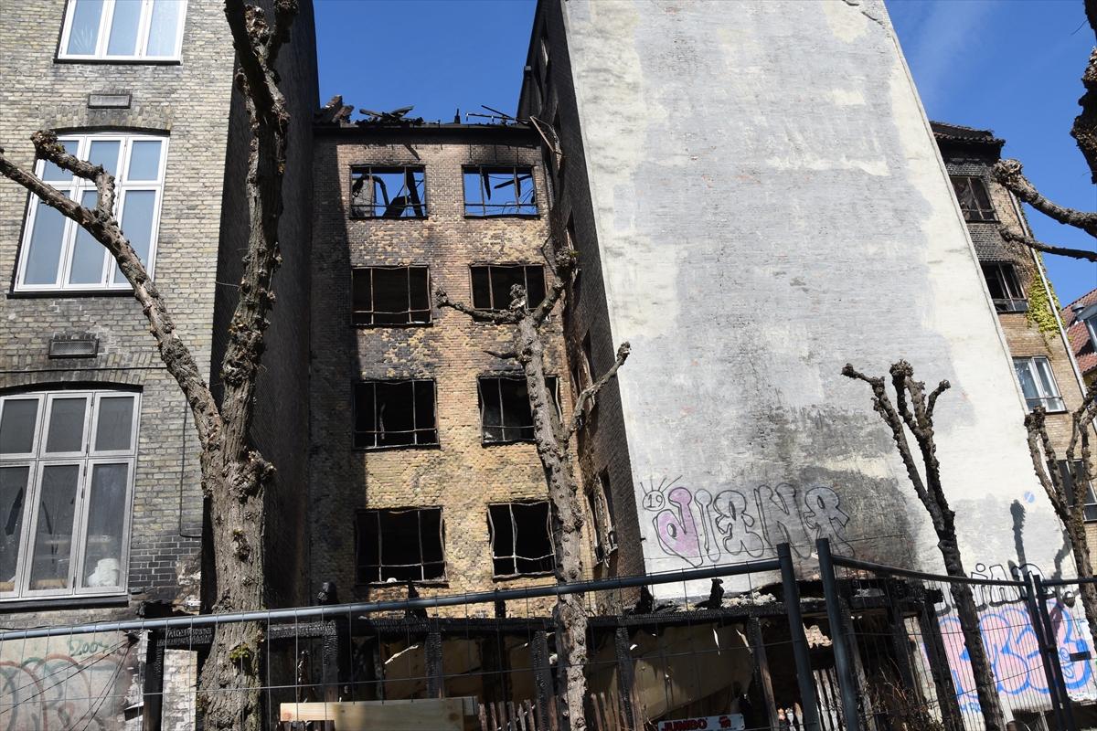 """Danimarka'daki cami yangınında """"kundaklama"""" şüphesi"""