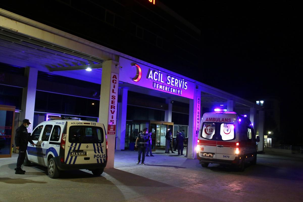Konya'da traktör devrilmesi sonucu 9 kişi yaralandı
