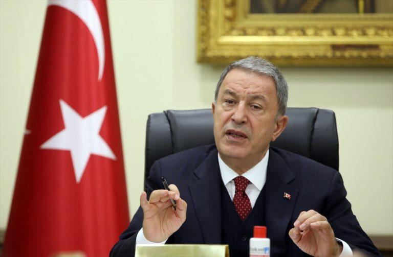 """Bakan Hulusi Akar'dan """"terhis"""" açıklaması"""