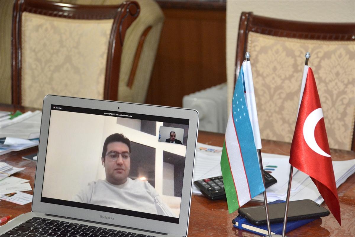 Özbek ve Türk iş insanları, Kovid-19 sonrası turizmdeki iş birliğini ele aldı