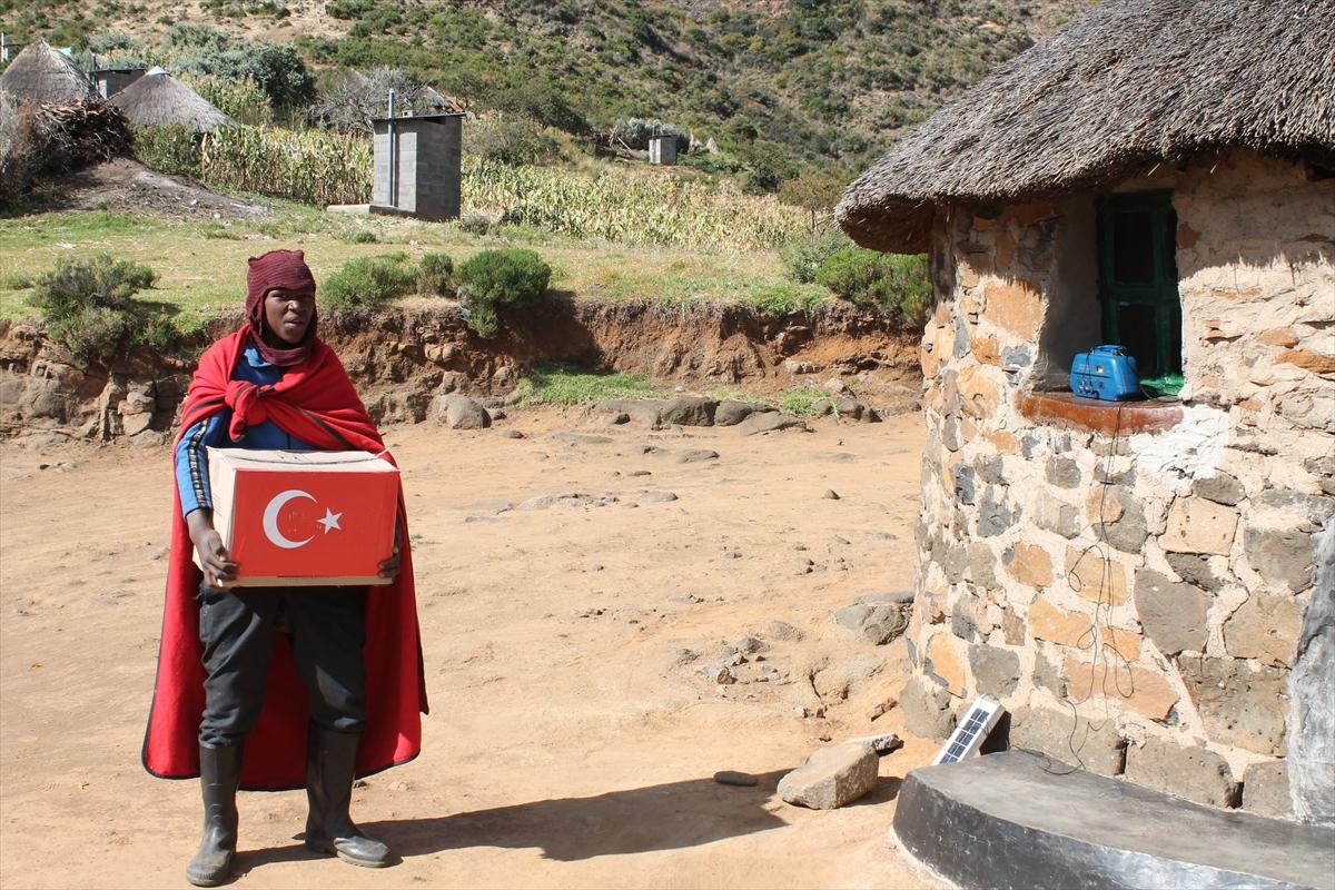 TİKA'dan Lesotho'da 700 aileye gıda yardımı