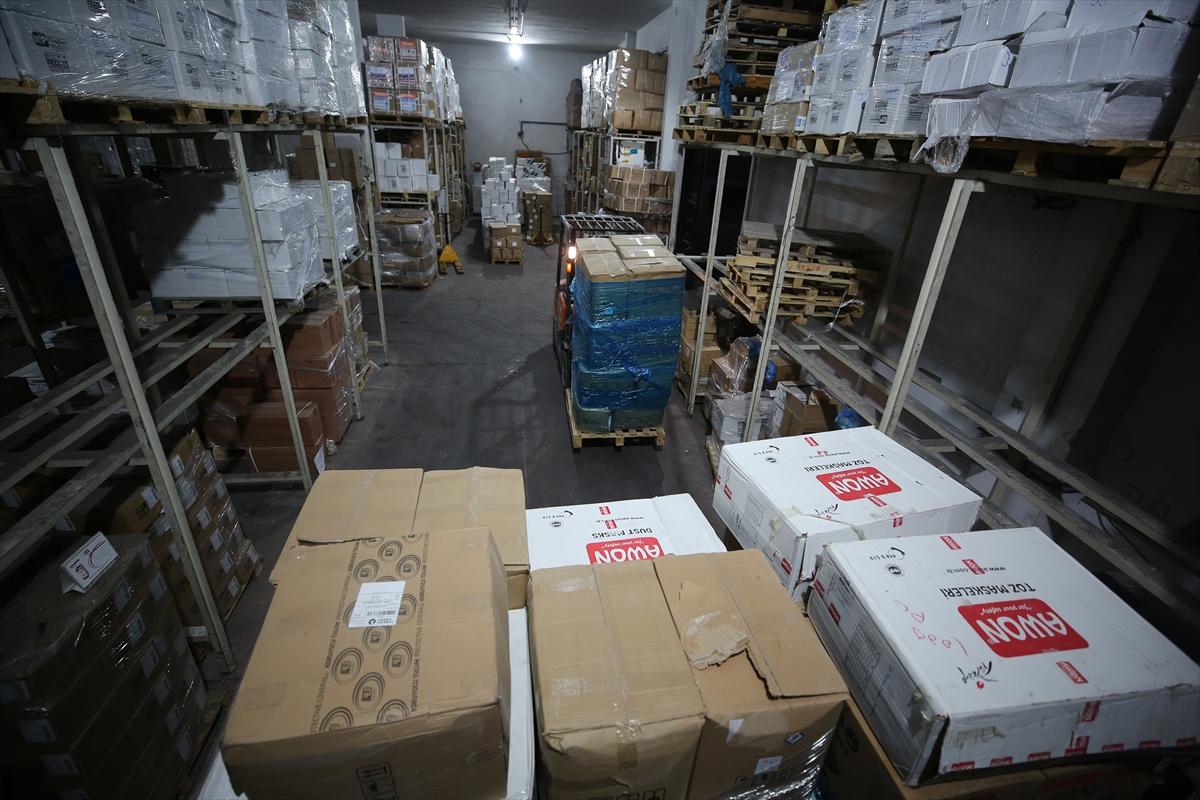 Türkiye'nin gönderdiği tıbbi malzemeler Gazze'ye ulaştı