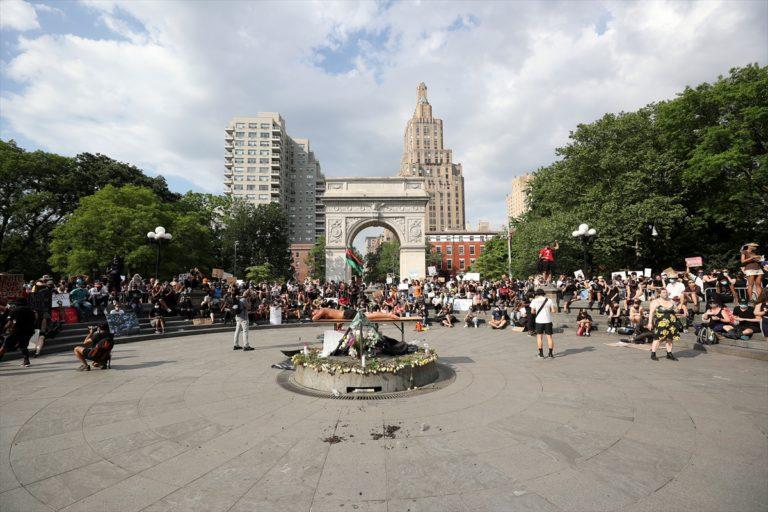 """ABD'de """"George Floyd"""" protestoları 12. gününde"""