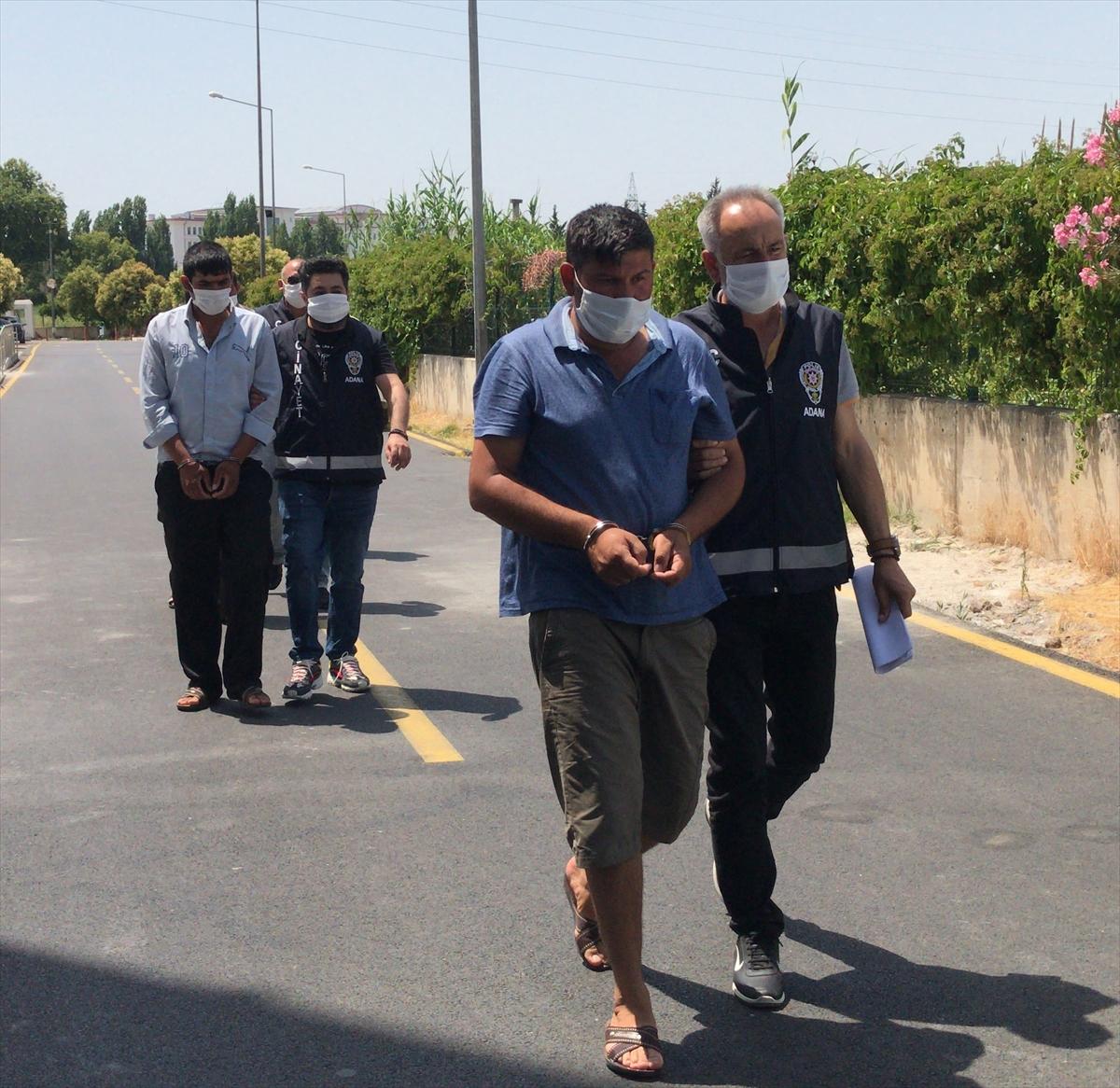 Adana'da 4 kişinin yaralandığı kavganın 5 şüphelisi tutuklandı