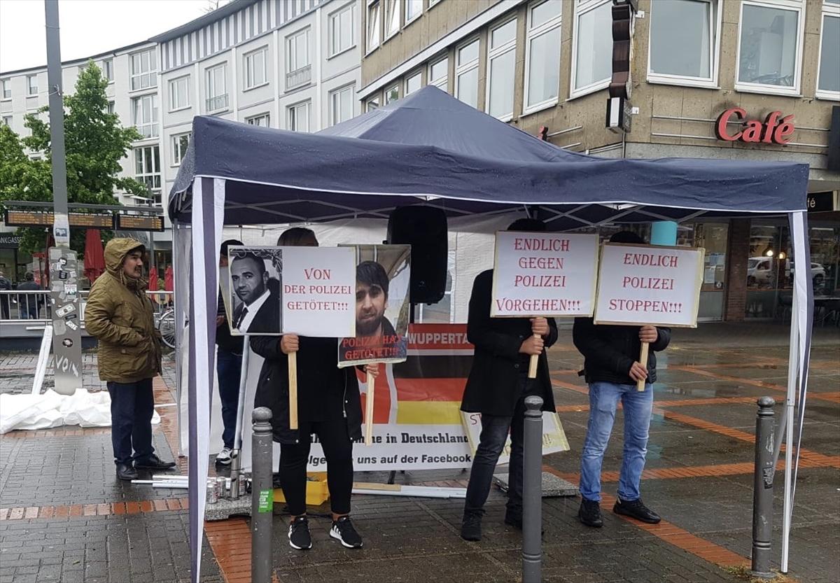 Almanya'daki polis şiddeti Bochum'da protesto edildi
