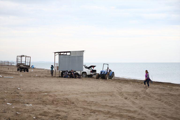 """Antalya'da """"çardaklı tatil""""de sezon hazırlıkları başladı"""
