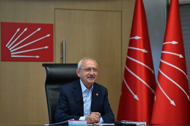 CHP Genel Başkanı Kılıçdaroğlu, çevre örgütü temsilcileriyle videokonferansla görüştü: