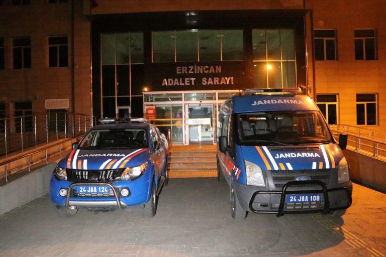 Erzincan'daki terör saldırısına ilişkin soruşturmada 2 şüpheli tutuklandı
