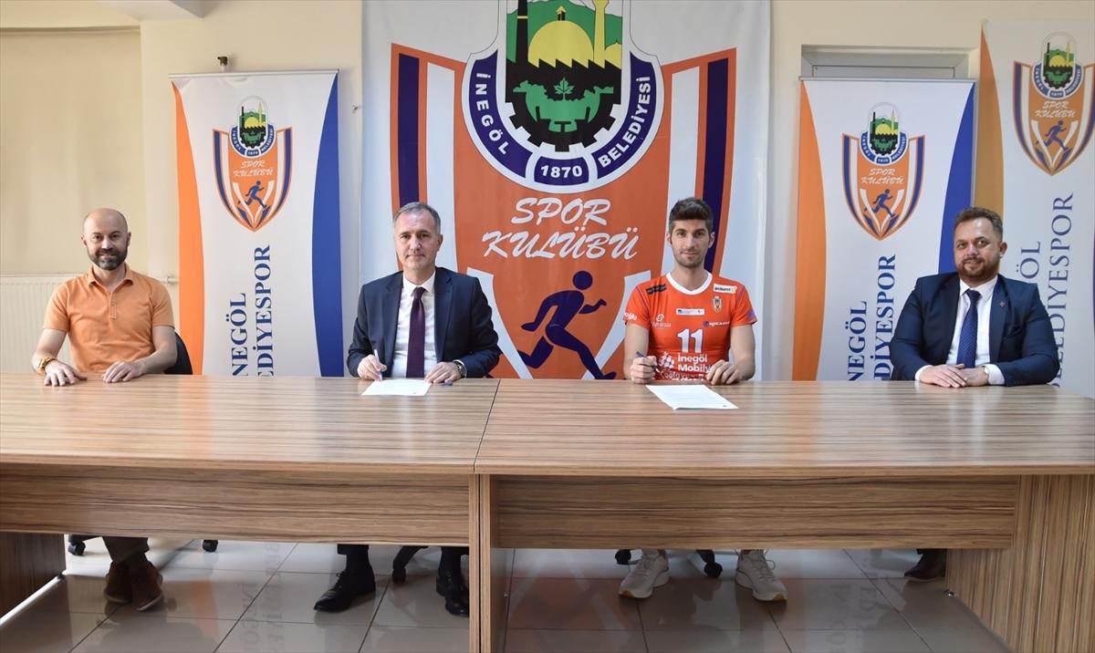 İnegöl Belediyespor, Caner Çiçekoğlu ile sözleşme imzaladı