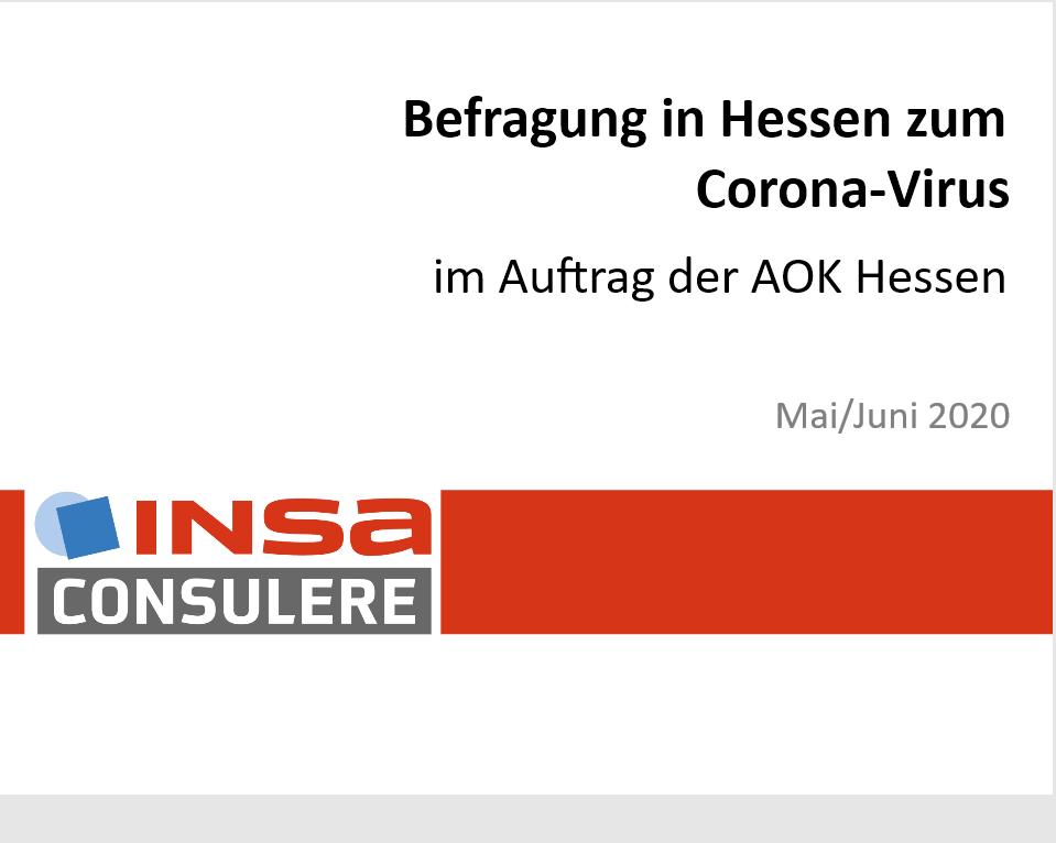 Repräsentative Befragung in Hessen: Umfängliches Vermeidungsverhalten