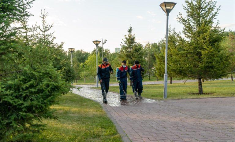 Kazakistan'da Kovid-19 vaka sayısı 12 bin 694'e yükseldi