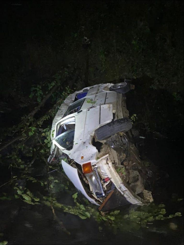 Minibüsün dereye yuvarlandığı kazada 1 kişi öldü, 3 kişi yaralandı