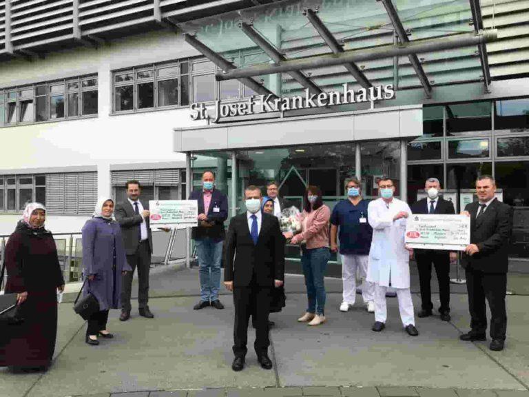 Cami derneklerinden sağlık çalışanlarına anlamlı destek