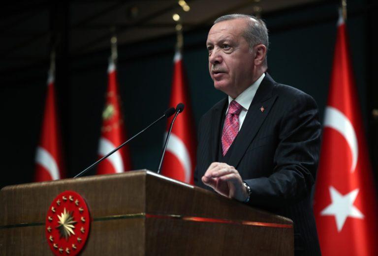 """Cumhurbaşkanı Erdoğan: """"(Yusufeli Barajı) Tamamen mühendislerimizin ürünü olan eser, ekonomimize yılda 1,5 milyar lira katkı sağlayacak."""""""