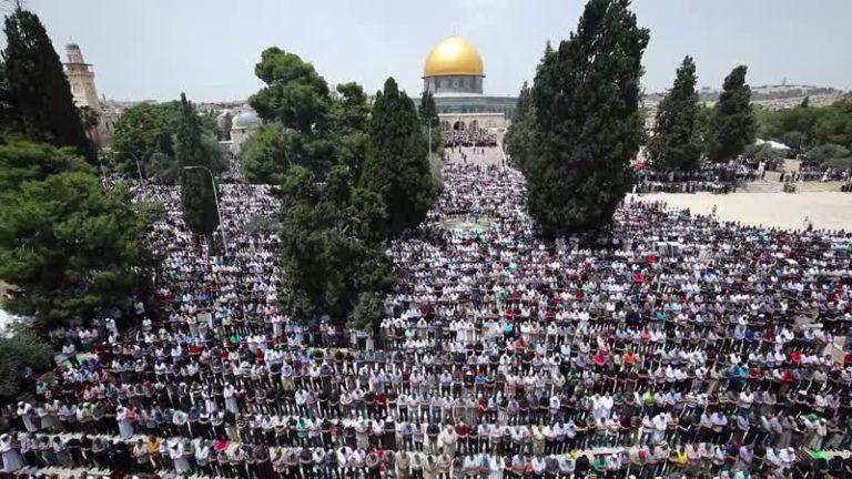 "Mescid-i Aksa minberinden İsrail'in ""ilhak"" planına tepki"